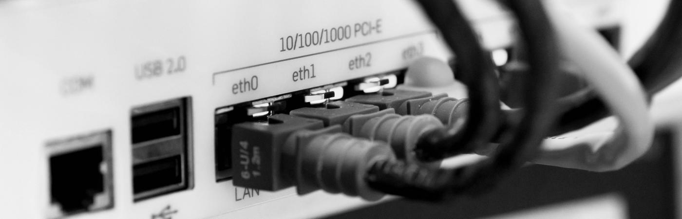 Internet- und Netzwerkeinrichtung
